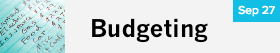 Budgeting Adult Class