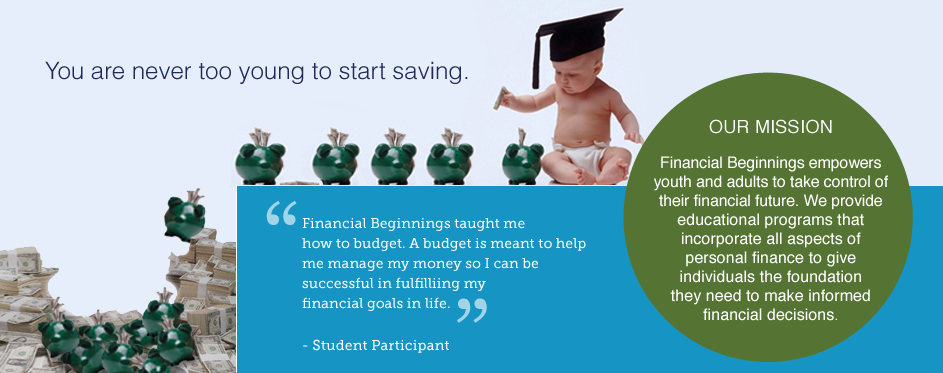 You Are Never Too Young To Start Saving